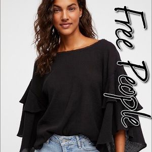 Free People Cool Cat Top NWT L